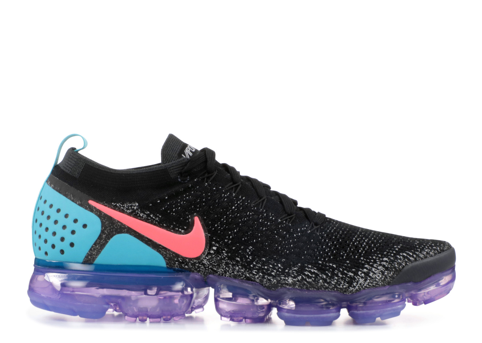 93b385740ef66 Nike Air VaporMax 2.0 Black Hot Punch - 0