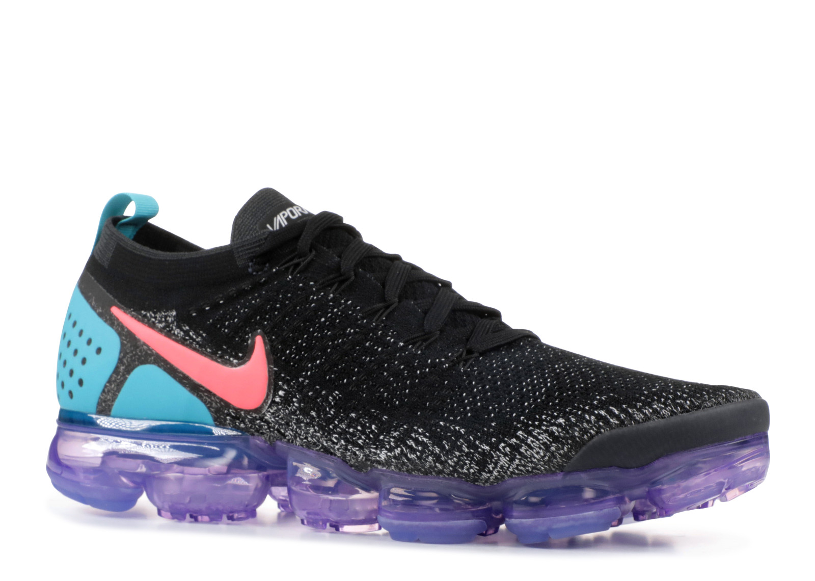 e44721817d9fe Nike Air VaporMax 2.0 Black Hot Punch - 1