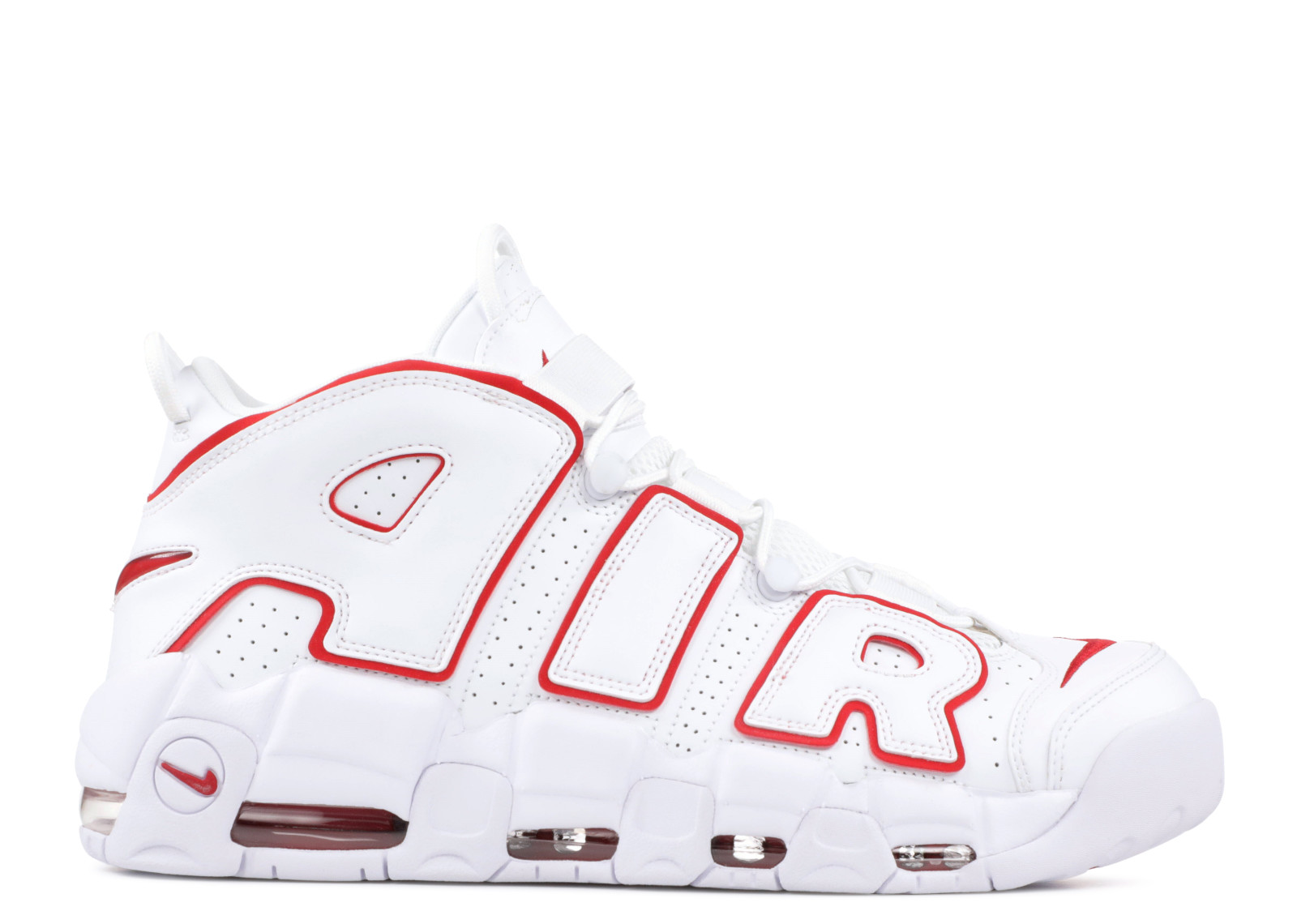 huge selection of 22834 b55f8 Nike Air More Uptempo White Varsity Red - 0