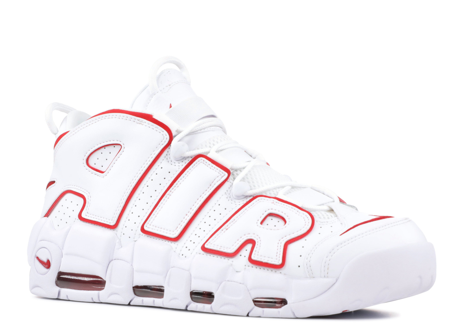 on sale 88ca0 9ebf0 Nike Air More Uptempo White Varsity Red - 1