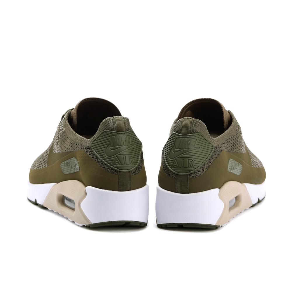 reputable site 60719 c58e2 Nike Air Max 90 Ultra Flyknit 2.0 Olive - 4
