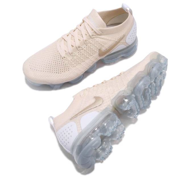 492082d4104 Nike Air VaporMax Flyknit 2 Light Cream Gold Star (W) - 4
