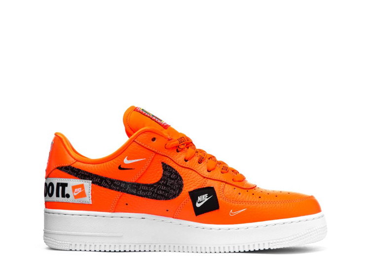 superior quality e8cb9 b3379 Nike Air Force 1 Low Just Do It Pack Total Orange - 0