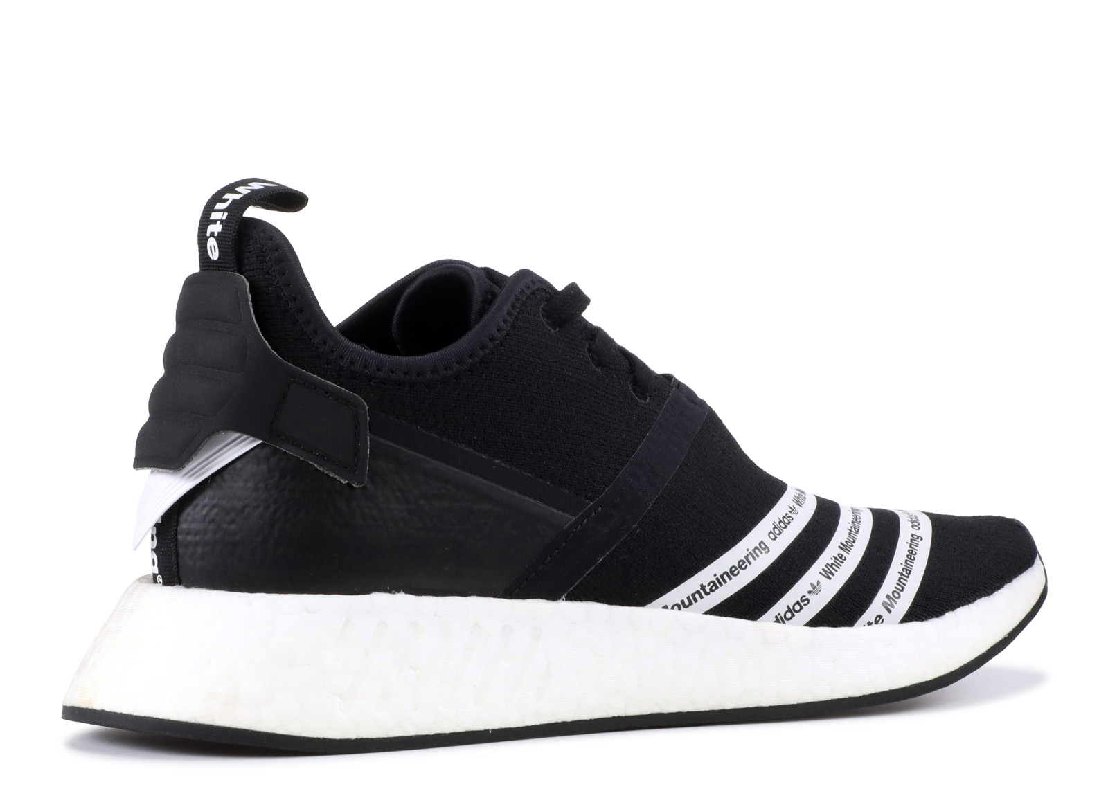 a2205ea369513 NMD R2 White Mountaineering Black - 3