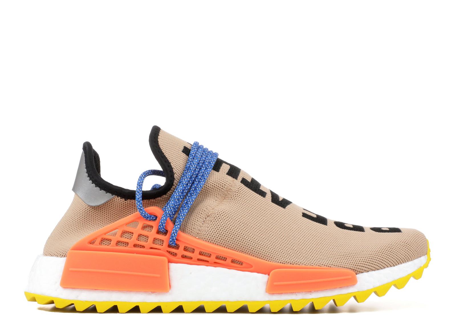 992651890 Adidas NMD Human Race Trail Pharrell Pale Nude