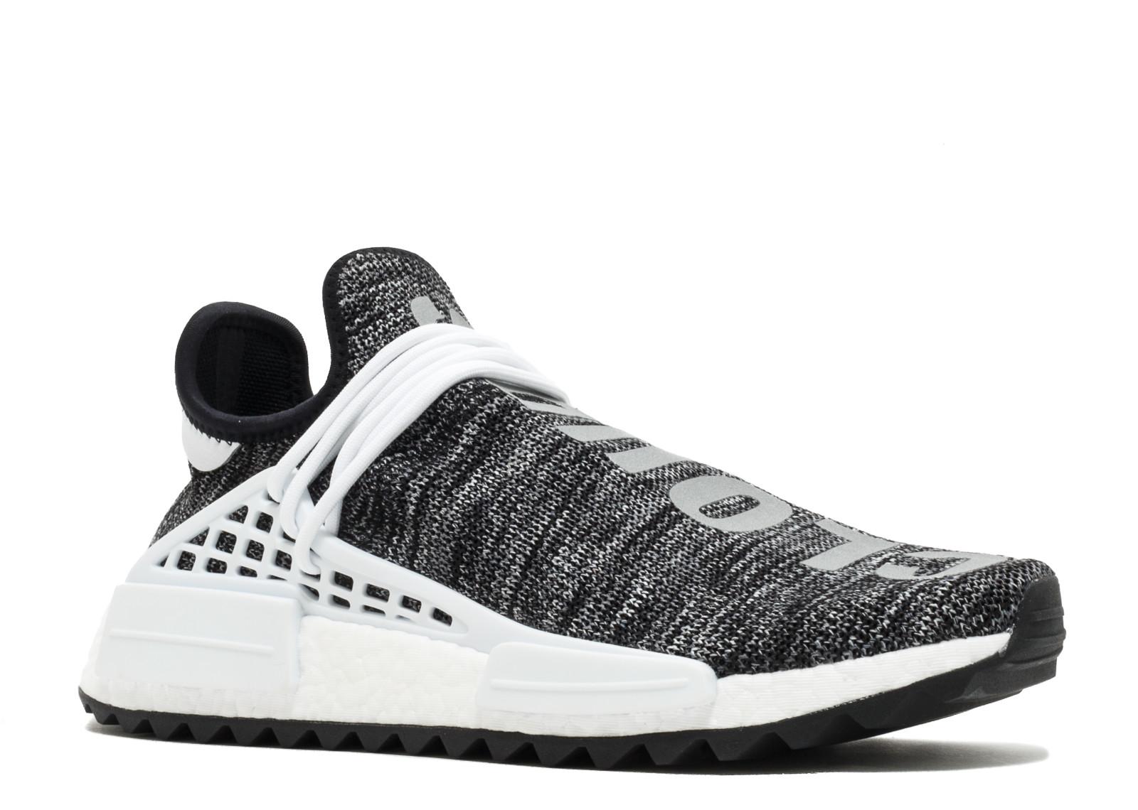 huge selection of e104a d8920 Adidas NMD Human Race Trail Pharrell Oreo - 1