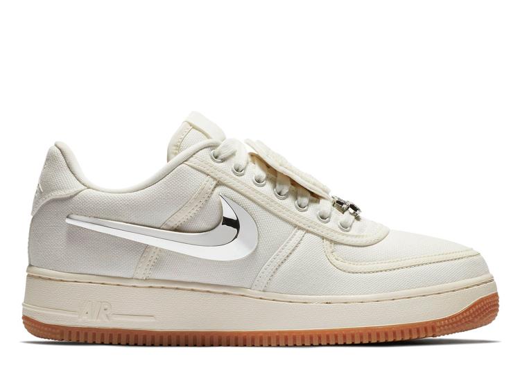 19ba4050067 Nike Air Force 1 Low Travis Scott Sail