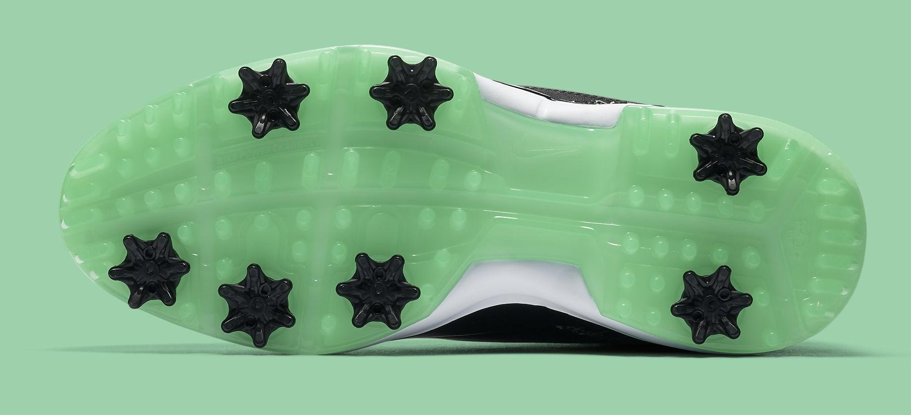 f9e4275a1c0662 Jordan 3 Retro Golf Black Green Glow - 4