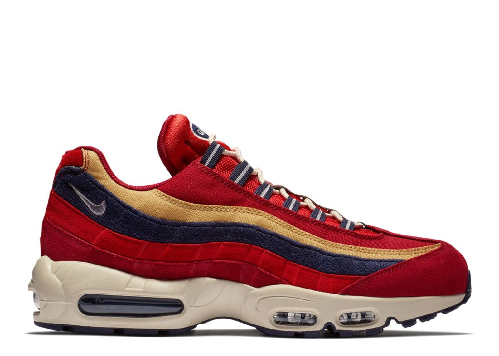 new product 14dd0 6d4a0 Nike Air Max 95 Red Crush Wheat Gold - 0