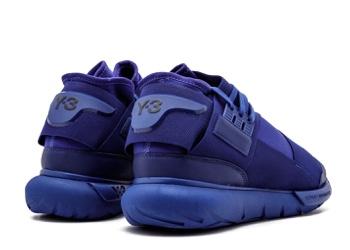 dc034a711 adidas Y-3 Qasa High  Dark Blue  - 3