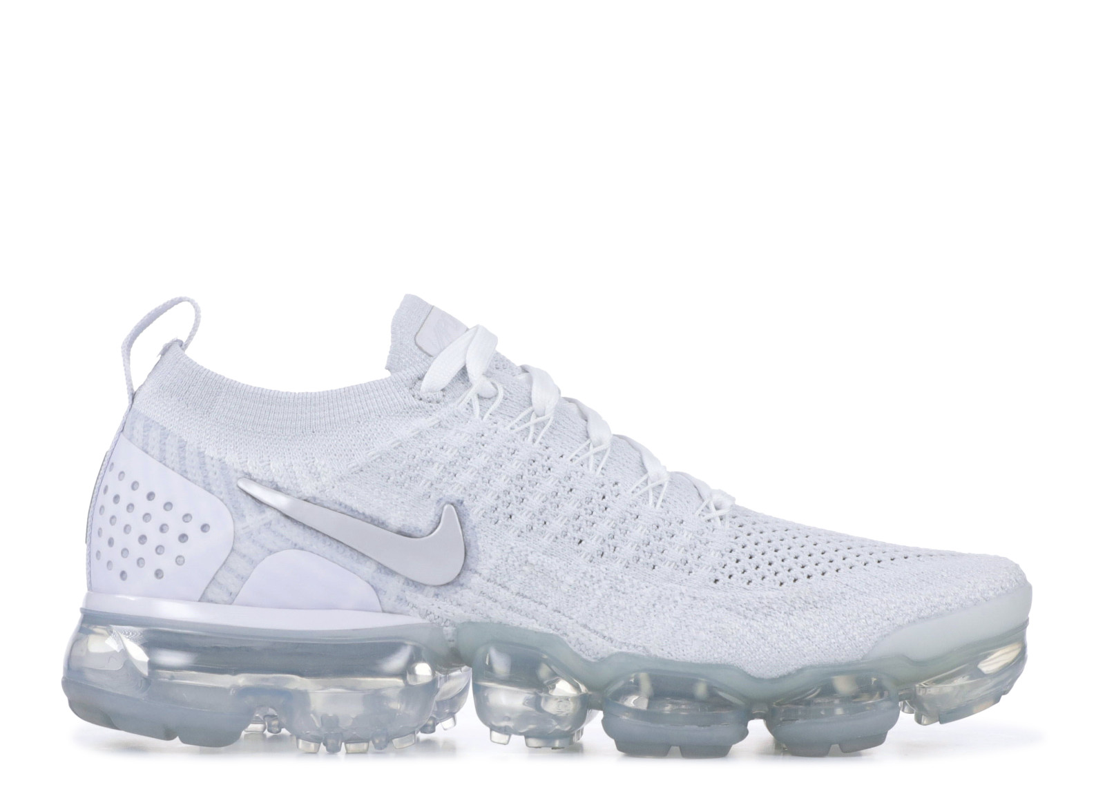 26edf2c485 Air VaporMax Flyknit 2 White Vast Grey (W) - 0