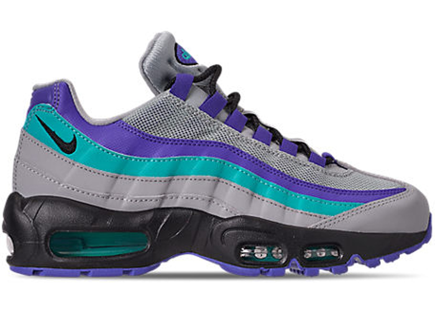cheaper 056d7 59bf3 Nike Air Max 95 Wolf Grey Grape - 0