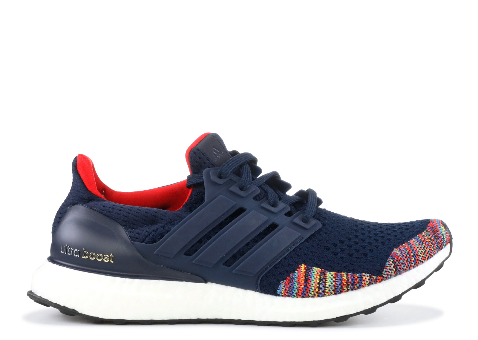 8f845411331c0 adidas Ultra Boost 1.0 Multi-Color Toe Navy - 0