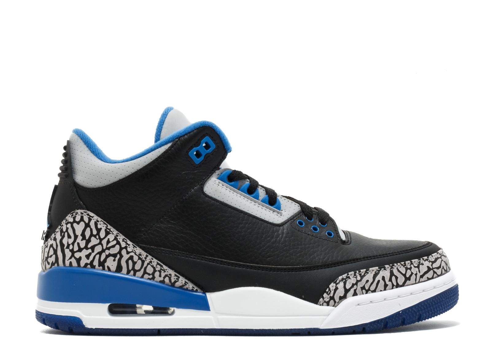 Kick Avenue - Jordan 3 Retro Sport Blue