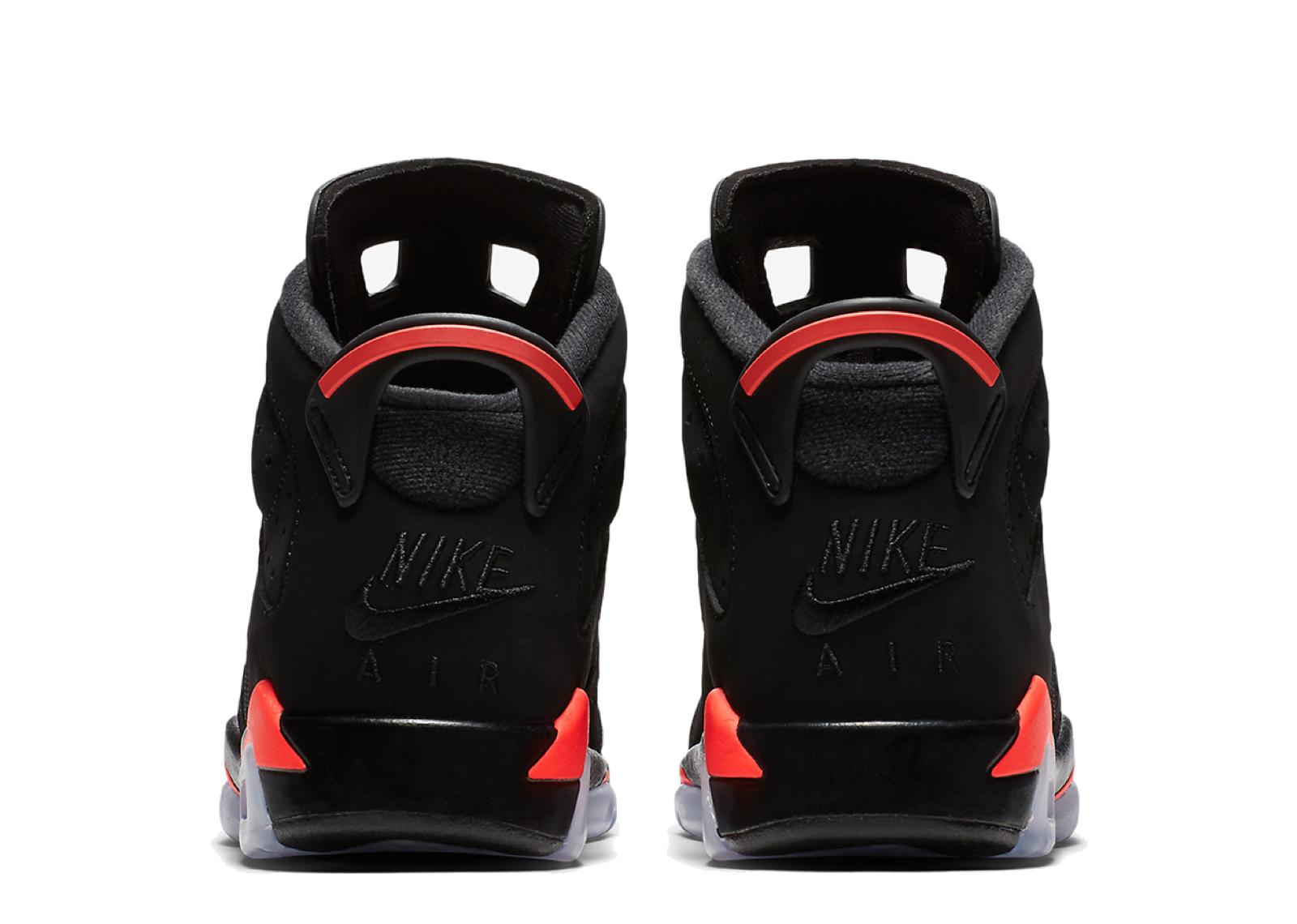 designer fashion 163c8 d50c2 Jordan 6 Retro Black Infrared 2019 (GS) - 4