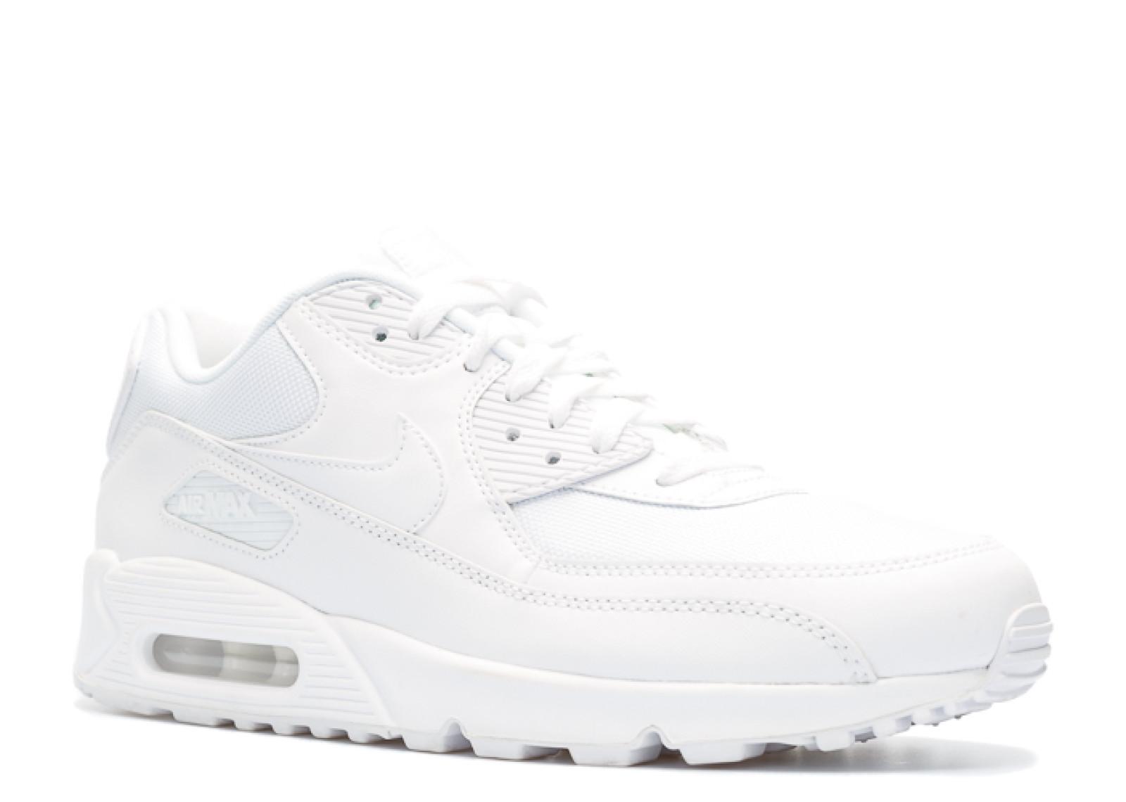 new style 3aad3 bb164 Nike Air Max 90 Triple White - 1
