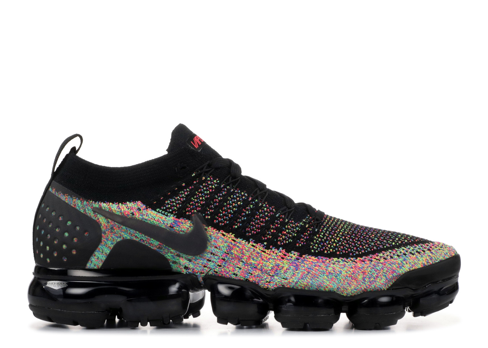 a766e95fcd80a Nike Air VaporMax 2 Black Multi-Color - 0