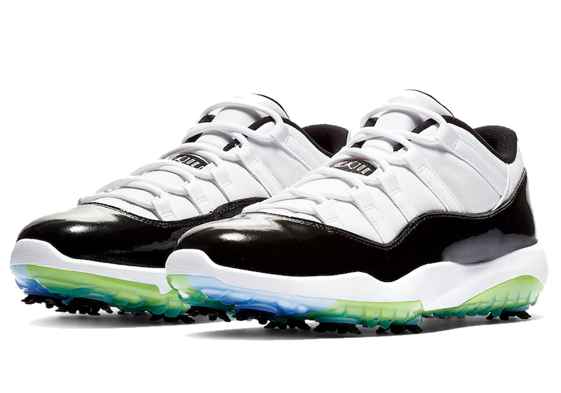 check out 7b0a1 d0440 Jordan 11 Retro Low Golf Concord - 1