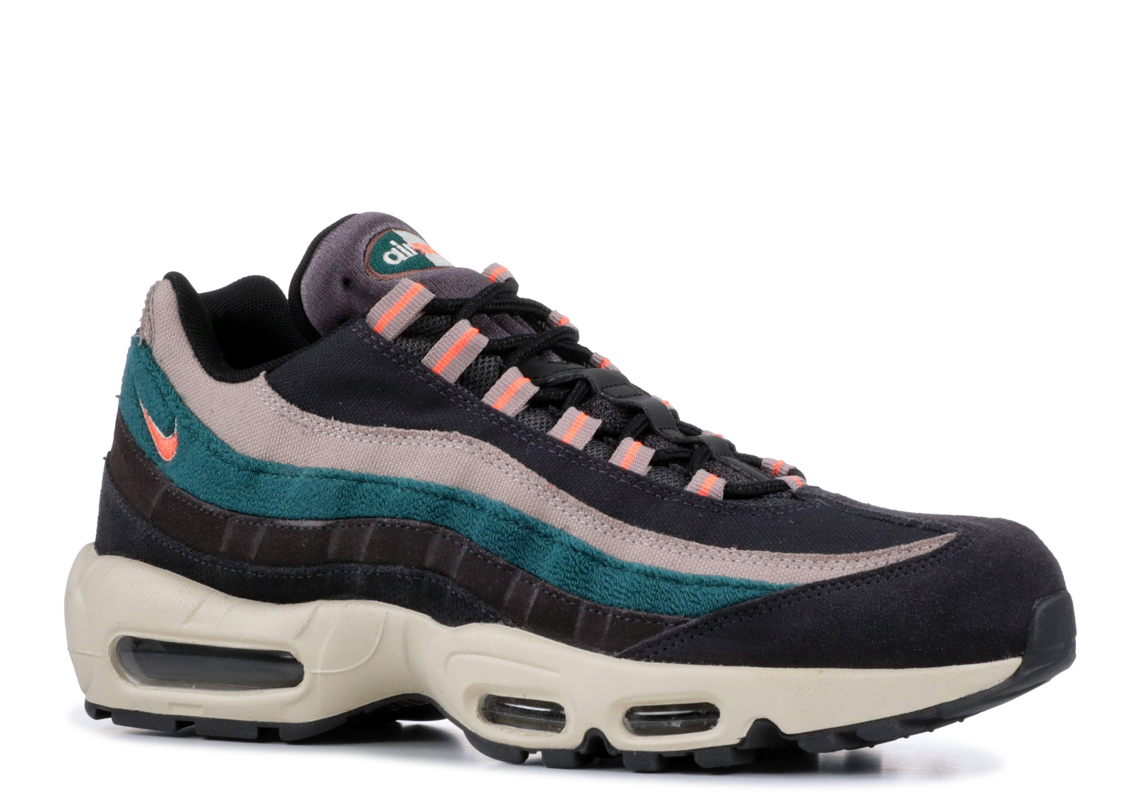 Air Max 95 Grey Rainforest Bright Mango