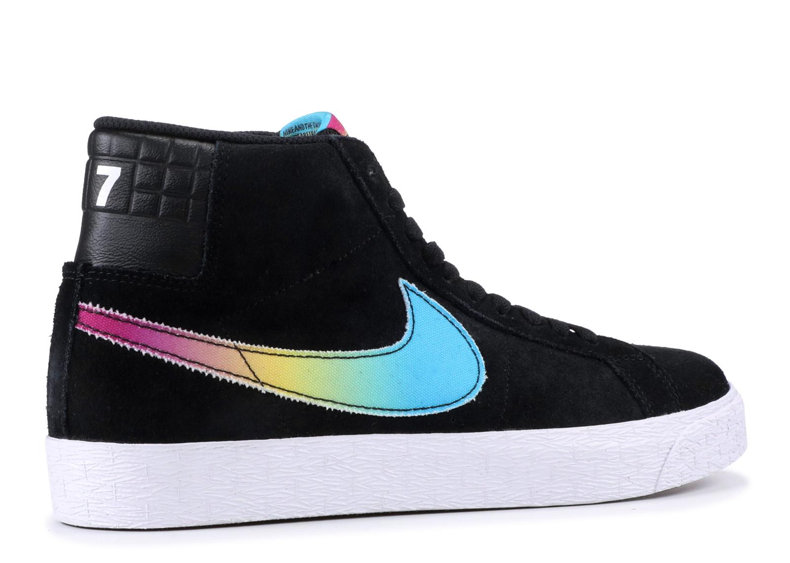 buy popular 45963 d3edc Nike SB Blazer Zoom Mid Lance Mountain 70s Black - 1