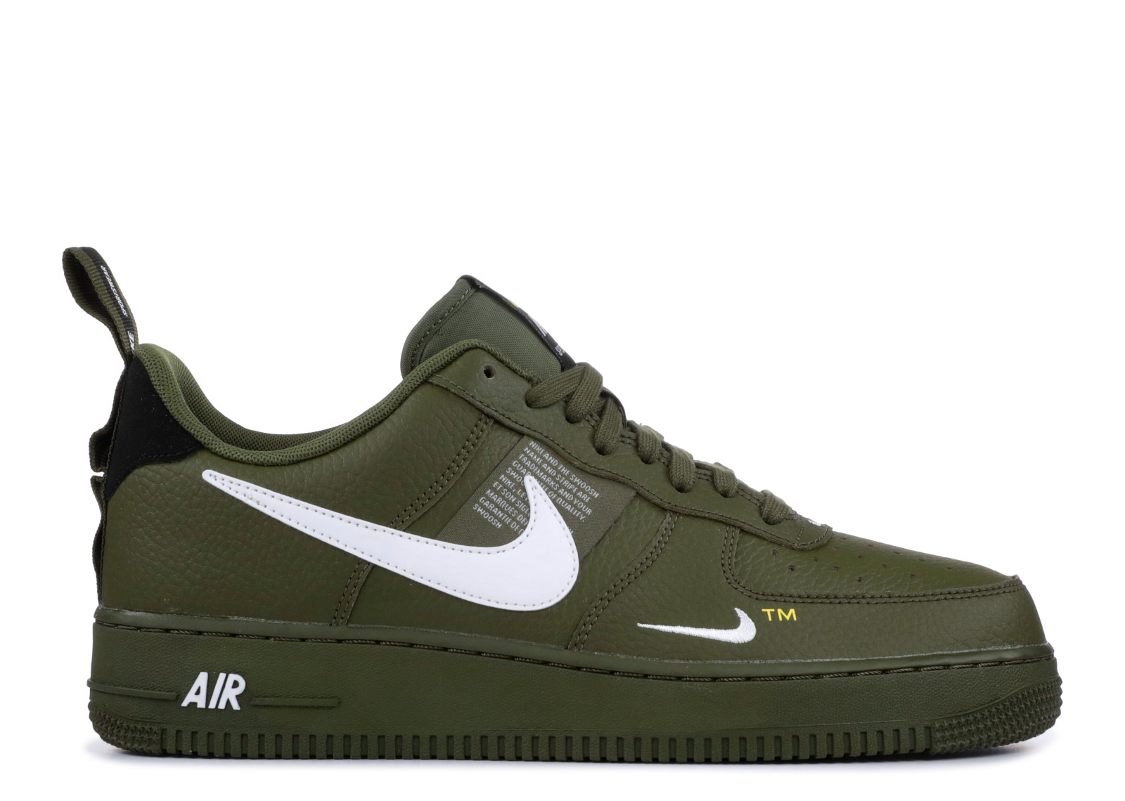 finest selection 6098a 62725 Nike Air Force 1 Low Utility Olive Canvas - 0
