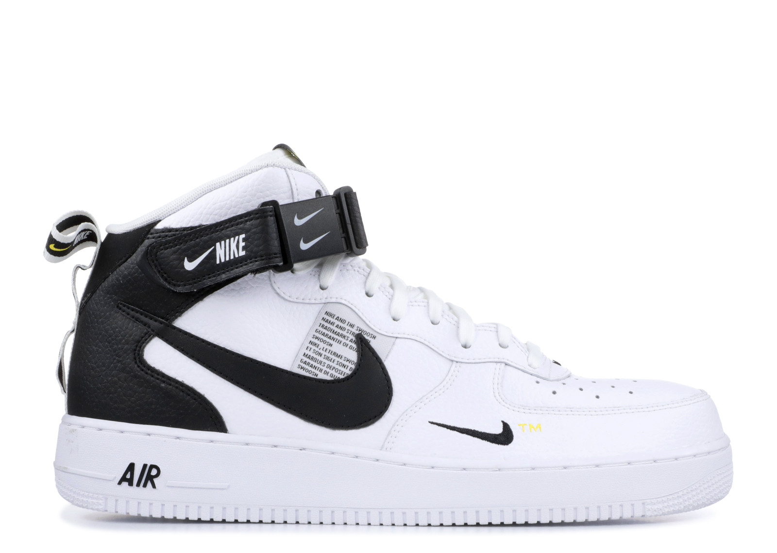 530d8a794733 Nike Air Force 1 Mid Utility White Black - 0