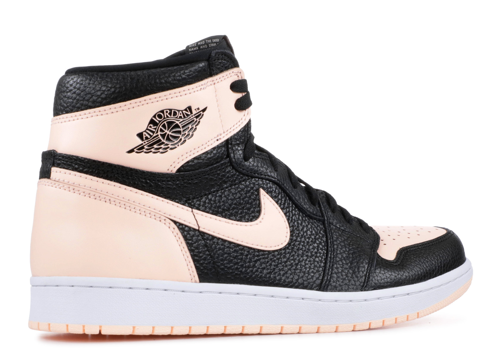 b8084a11cada Jordan 1 Retro High Black Crimson Tint - 3
