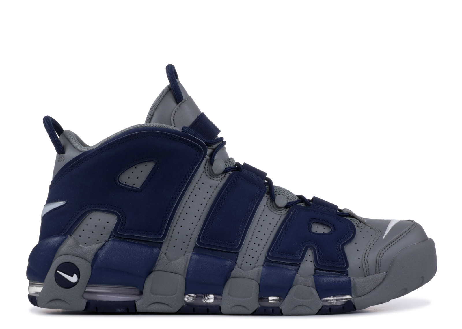 ef1b509ed7 Nike Air More Uptempo Cool Grey Midnight Navy