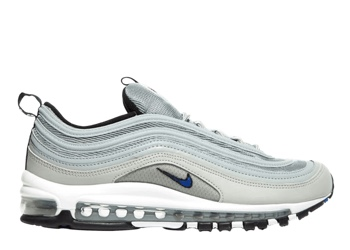 best authentic 0b53e 67652 Nike Air Max 97 Metallic Silver Racer Blue - 0