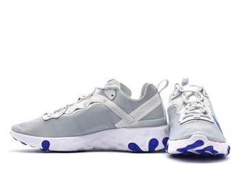2ad0fd7087dbb Nike React Element 55 Pure Platinum Racer Blue - 1