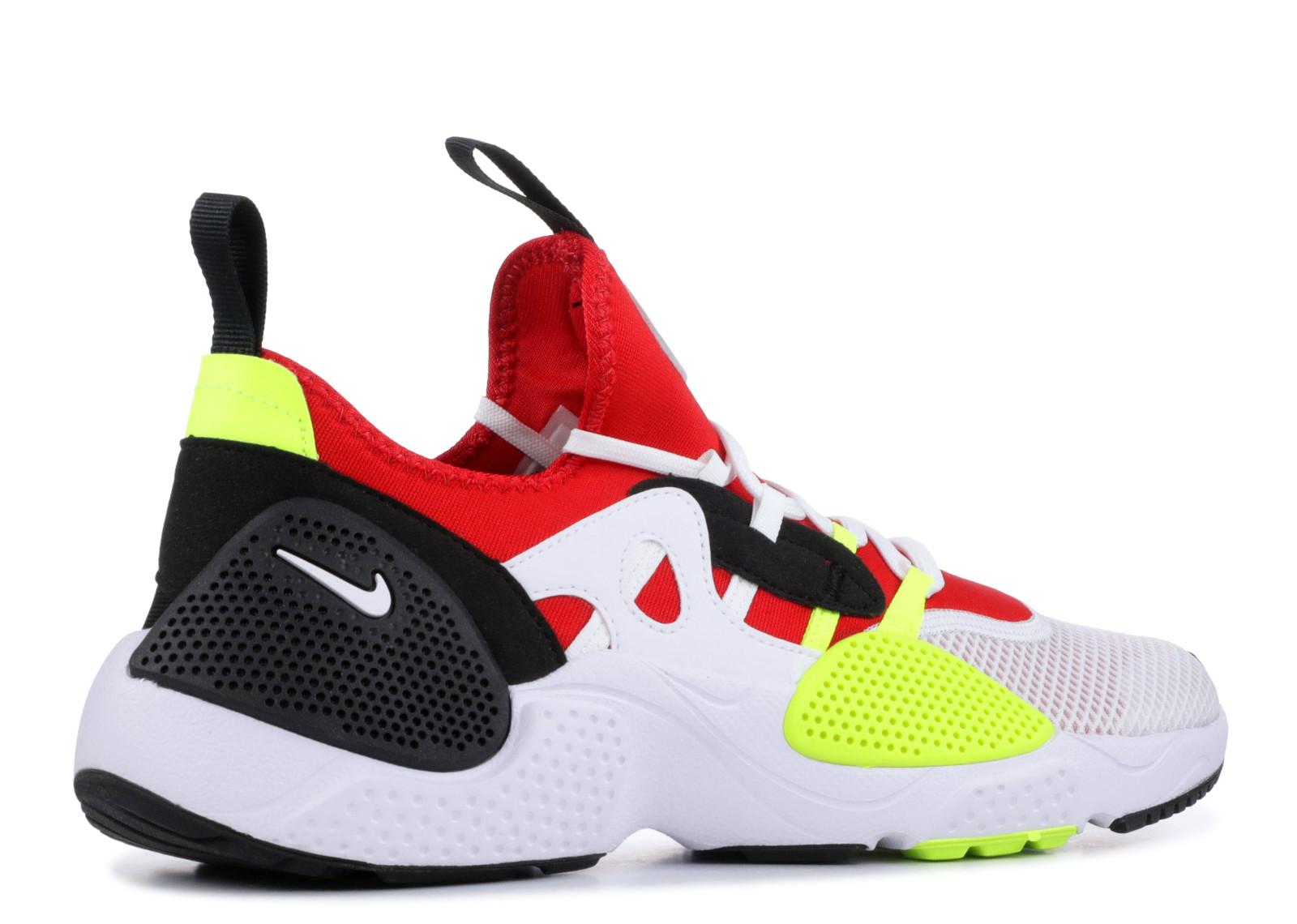 a791e9f8441e Nike Huarache Edge Txt White University Red Volt Black - 3