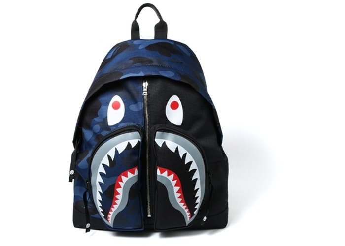 4aef1676 Bathing Ape Color Camo Shark Day Pack - 0