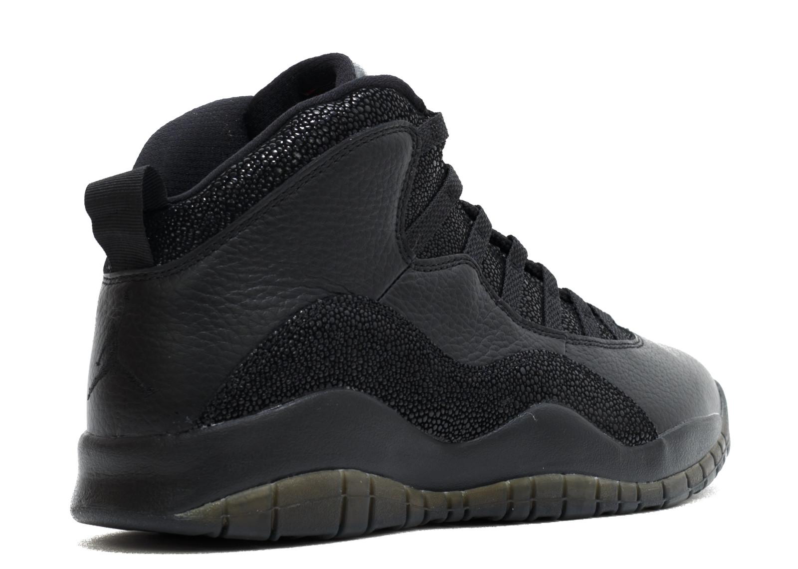 4dd4e900531d Jordan 10 Retro Drake OVO Black - 3
