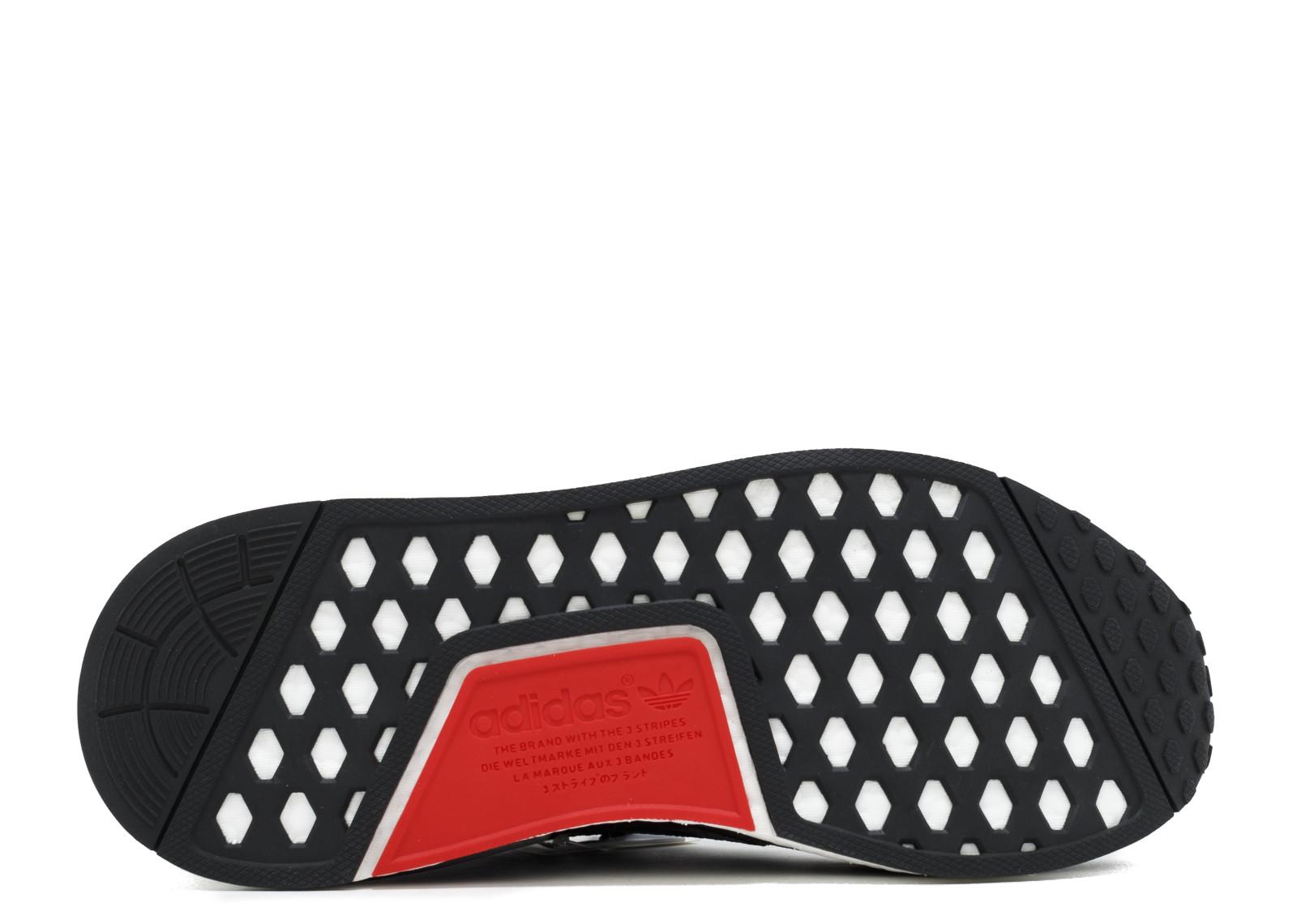 d7232f4f0f039 Adidas NMD R1 Footlocker Black Red - 4