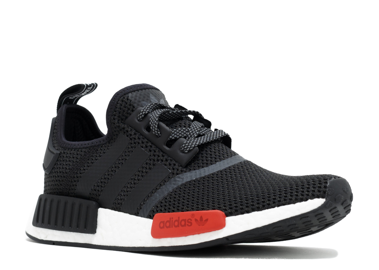 42375eef4fc32 Adidas NMD R1 Footlocker Black Red - 1