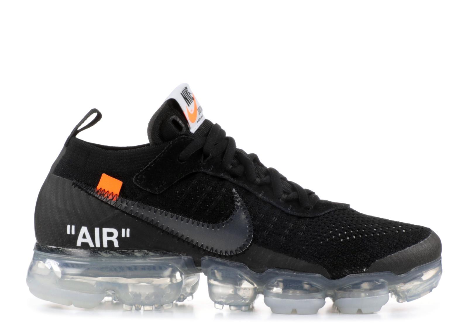 c7c5bcae15085 Nike Air Vapormax Off-White 2018 Black